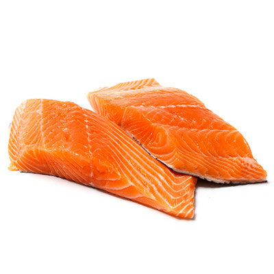 Salmon Fillets Huon Atlantic Skin On, Deboned (SFS) min 420g , Fish - Fish, Harris Farm Markets