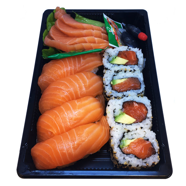 Sushi - Salmon Lovers (12 pieces in a tray)
