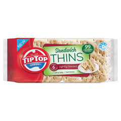 Tip Top - Bread Sandwich Thins - Lightly Seeded (6pk, 240g)