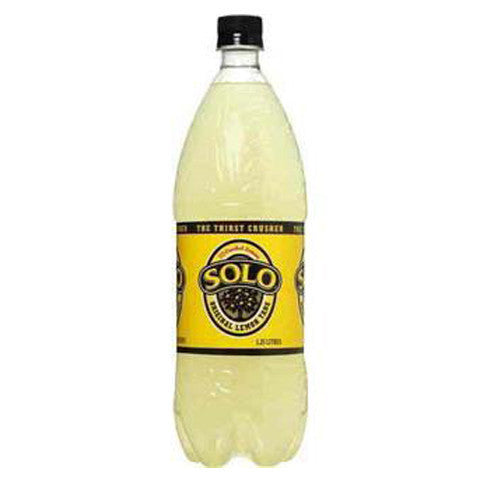 Schweppes Solo Lemon 1.25L , Grocery-Drinks - HFM, Harris Farm Markets