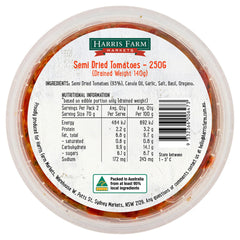 Harris Farm - Antipasti Semi Dried Tomato Marinated (250g)