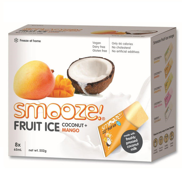 Smooze Ice Box Mango 552g , Grocery-Confection - HFM, Harris Farm Markets