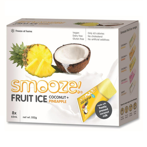 Smooze Ice Box Pineapple 552g , Grocery-Confection - HFM, Harris Farm Markets