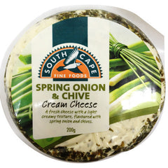 Cream Cheese South Cape Onion&Chive 200g , Frdg1-Cheese - HFM, Harris Farm Markets