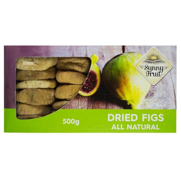 Sunny Fruit - Figs Dried (500g)
