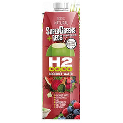 H2Coco - Coconut Water - SuperGreens & Reds (1L)