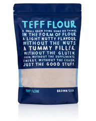 Teff Tribe Brown Flour 500g , Grocery-Grains - HFM, Harris Farm Markets  - 1