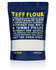 Teff Tribe Ivory Flour 500g , Grocery-Grains - HFM, Harris Farm Markets  - 1