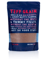 Teff Tribe Brown Grain 500g , Grocery-Grains - HFM, Harris Farm Markets  - 1