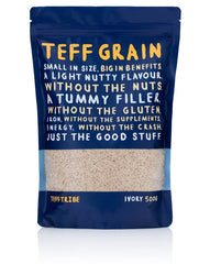 Teff Tribe Ivory Grain 500g , Grocery-Grains - HFM, Harris Farm Markets  - 1