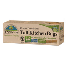 If You Care Tall Kitchen Bags 12 pack