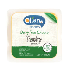 Oliana - Cheese Tasty Block Dairy Free (200g)