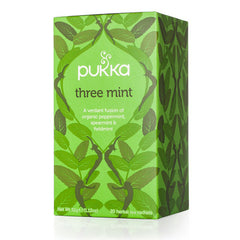 Pukka Tea - Three Mint Organic 20S (32G)