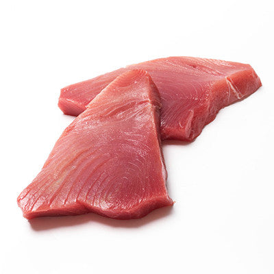 Tuna Yellowfin Steaks Skin Off, Deboned (SFS) min 450g , Fish - Fish, Harris Farm Markets