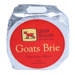 Goat Cheese Udder Delight Brie 105g , Frdg1-Cheese - HFM, Harris Farm Markets