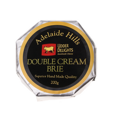 Brie - Double Cream (200g) Udder Delights