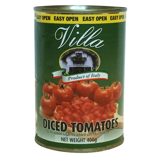 Villa Diced Tomatoes 400g , Grocery-Can Veg - HFM, Harris Farm Markets  - 1
