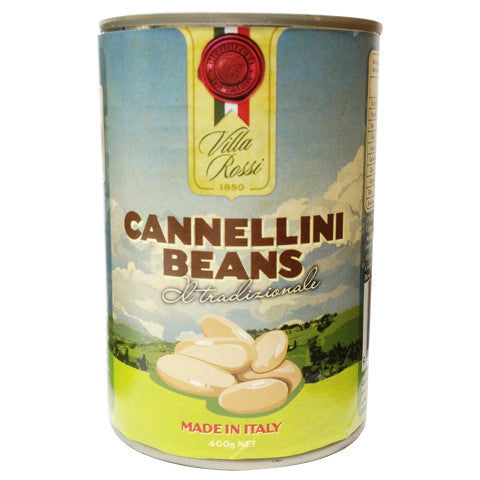 Villa Rossi Cannelini Beans 400g , Grocery-Can Veg - HFM, Harris Farm Markets