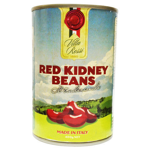 Villa Rossi Red Kidney Beans 400g , Grocery-Can Veg - HFM, Harris Farm Markets