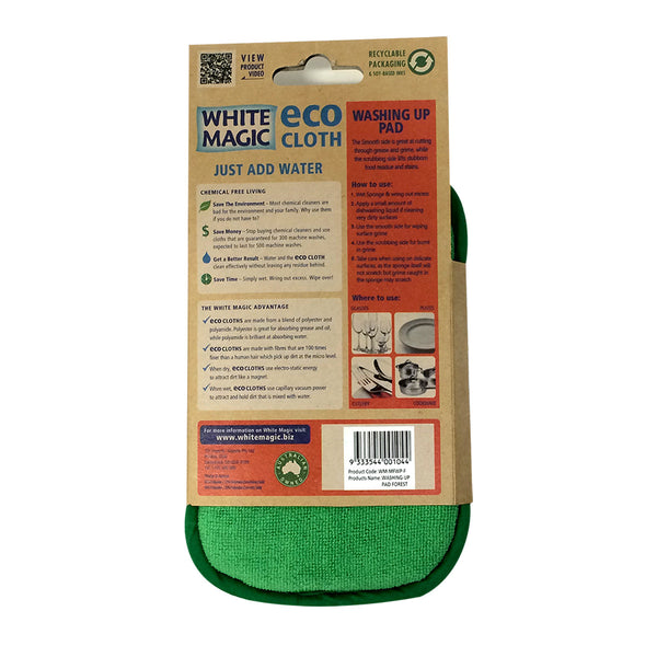 White Magic Eco Washing Pad Forest , Grocery-Cleaning - HFM, Harris Farm Markets  - 2