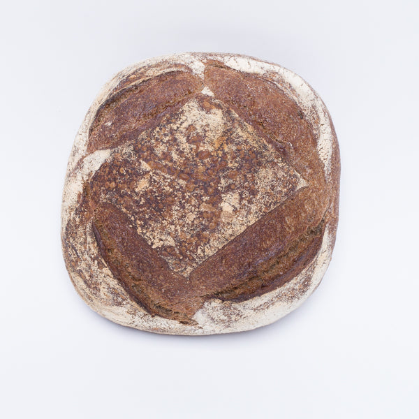 Sonoma Wholewheat Miche 570g , Z-Bakery - HFM, Harris Farm Markets  - 1
