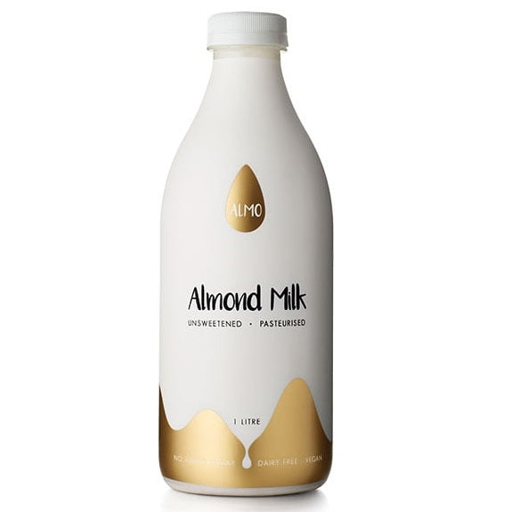 Almo - Almond Milk - Unsweetened Pasteurised (1L)