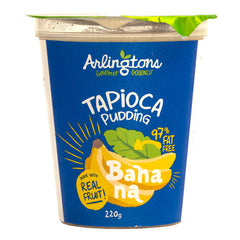 Arlingtons Banana Tapioca Pudding 220g , Frdg3-Dessert - HFM, Harris Farm Markets  - 1