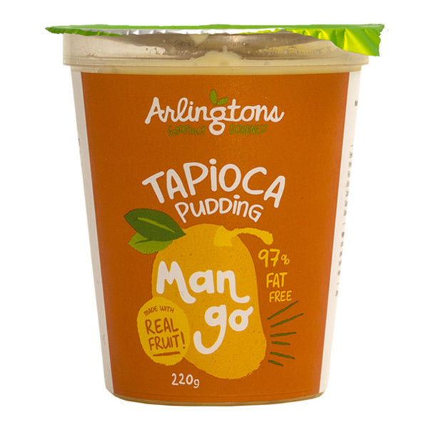 Arlingtons - Tapioca Pudding - Mango | Harris Farm Online