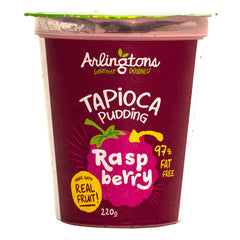 Arlingtons - Tapioca Pudding - Raspberry | Harris Farm Online