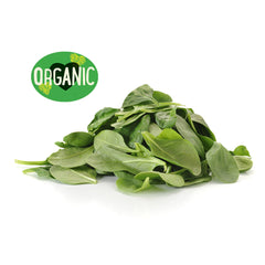 Salad Baby Spinach Organic Prepack (120g)