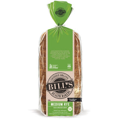 Bills - Bread Medium Rye - Organic (620g)