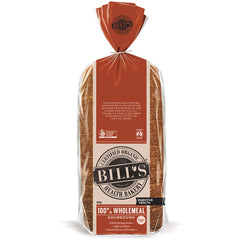 Bills - Bread Wholemeal Sourdough - Digestive Health Organic (620g)