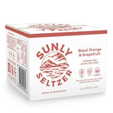 Sunly Seltzer Blood Orange and Grapefruit Sparkling Hard Seltzer Case  | Harris Farm Online