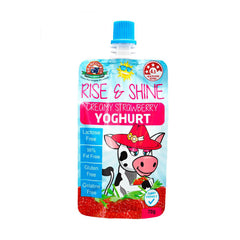 Brancourts - Yoghurt Rise/Shine - Strawberry Pouch (70g)
