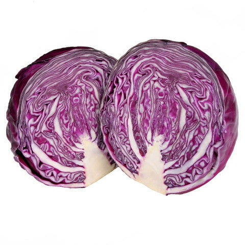 Cabbage Red (half) , S03M-Veg - HFM, Harris Farm Markets