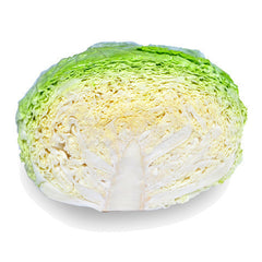 Cabbage Savoy (half) , S03M-Veg - HFM, Harris Farm Markets