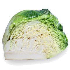 Cabbage Savoy (qtr) , S03M-Veg - HFM, Harris Farm Markets