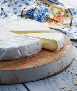 Brie King Island Cape Wickham Double Cream 200g , Frdg1-Cheese - HFM, Harris Farm Markets