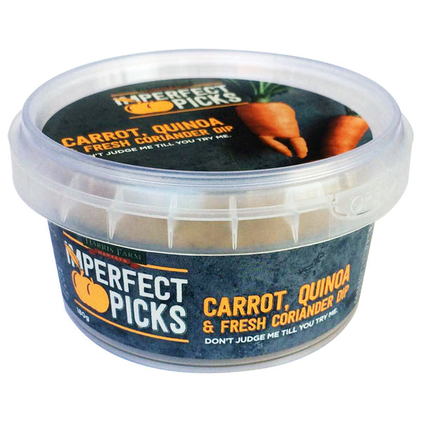 Imperfect Pick Carrot, Quinoa & Coriander Dip 180g , Frdg1-Antipasti - HFM, Harris Farm Markets