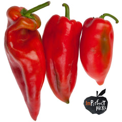 Chillies Bull Horn Imperfect Pick Value Range (Each = min 500g)