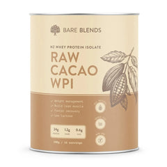 Bare Blends Organic Dark Cacao Natural WPI | Harris Farm Online