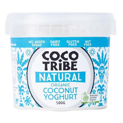 Coco Tribe Organic Coconut Milk Natural Yoghurt 500g