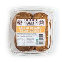 Pat and Stick's Salted Caramel Pecan Cookies | Harris Farm Online