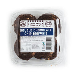 Pat and Stick's Double Chocolate Chip Brownie Cookies | Harris Farm Online