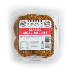 Pat and Stick's Classic Anzac Biscuits | Harris Farm Online