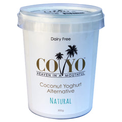 Co-Yo Yoghurt Natural 500g , Frdg2-Dairy - HFM, Harris Farm Markets  - 1