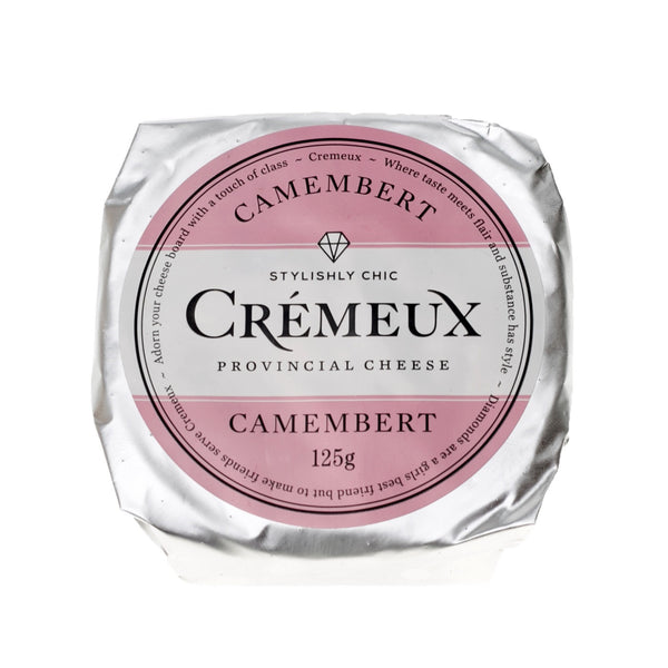 Camembert - Cremeux Provincial Cheese Wheel (125g)