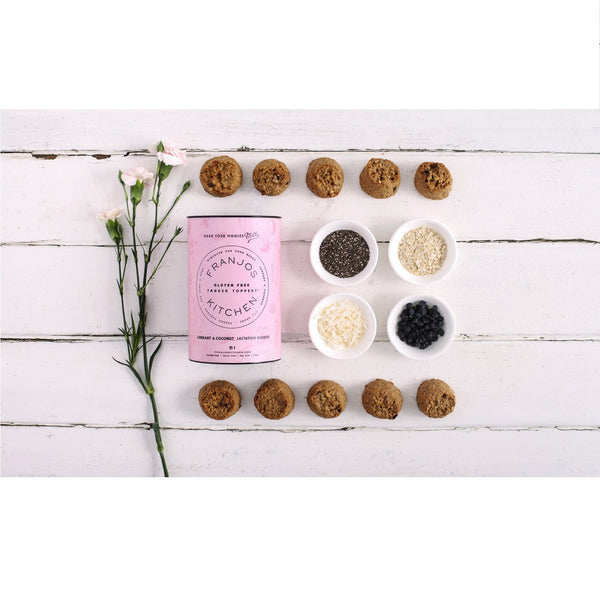 Franjos Kitchen - Lactation Biscuits - Currant and Coconut (252g)
