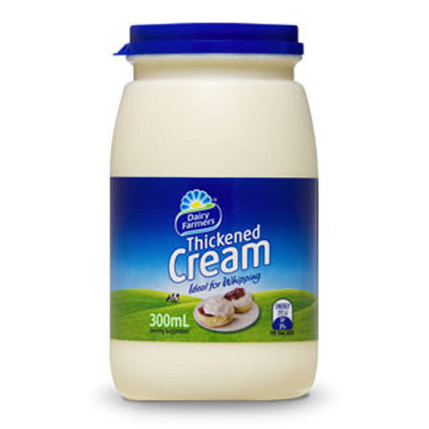 Dairy Farmers Thickened Cream 300ml , Frdg2-Dairy - HFM, Harris Farm Markets