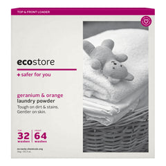 Ecostore Laundry Powder Geranium And Orange 1kg